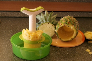 Ananasschneider - So benutzt man ihn (Bild 5/6)